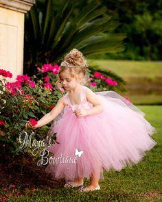 Flower Girl Tutu Dress  Flower Girl Dress  by MissMayasBowtique, $45.00