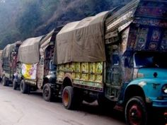 The Punjab government has dispatched fifty trucks loaded with food items for the Internally Displaced Persons (IDPs) of South Waziristan Agency.