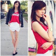 where do I find this white skirt at!? <3