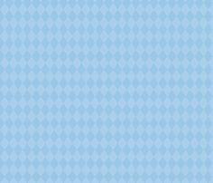 Dreams of Wonderland Sax Diamonds fabric by frostedfleurdelis on Spoonflower - custom fabric