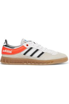 wholesale dealer e42f4 c0770 ADIDAS ORIGINALS Handball Top suede, leather and mesh sneakers