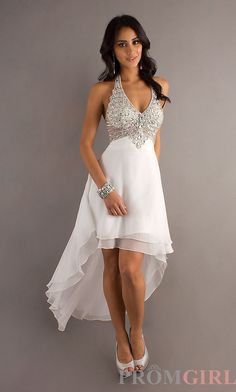 Permalink to High Low Halter Wedding Dress