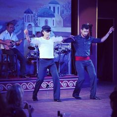 #traditionalshow #anopolis #greek #zorba #dancers #crete #greece #follow