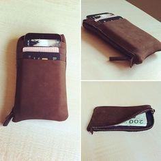 Kjøre Project's Phone Cards/Clutch Wallet. #Phone #Cards #Clutch #wallet #handmade #evolution #leather #iphone #iphone6 #iphone6plus #apple @kjoreproject