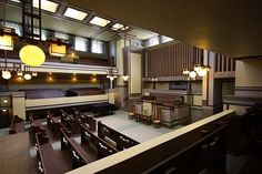 Unity Temple, Frank Lloyd Wright architect, Oak Park, Illinois, 1904