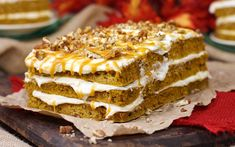 45-Minute Harvest Pumpkin Spice Cake with Cheesecake Frosting