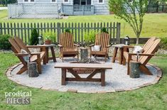 Backyard porch ideas on a budget patio makeover outdoor spaces amazing diy fire pit backyard budget decor prodigal pieces - Savvy Ways About Things Can Teach Us Diy Fire Pit, Fire Pit Backyard, Backyard Patio, Back Yard Fire Pit, Deck With Fire Pit, Backyard Seating, Modern Backyard, Budget Patio, Outside Fire Pits
