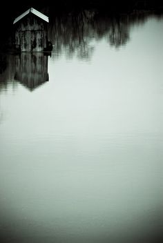 ♂ A Solitary Place... little house, silence reflection nature