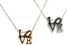 #OpenSky                  #love                     #Love #Necklace #Alexandra #Beth                    Love Necklace by Alexandra Beth                                               http://www.seapai.com/product.aspx?PID=915790