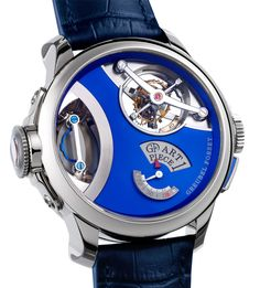 Greubel Forsey's Art Piece 1 was revealed at the 2013 SIHH, and quickly rose to the top spots in the most expensive watches ever made rankings, with a price of CHF million. The Art Piece 1 also has an inclined tourbillon. Men's Watches, Dream Watches, Fine Watches, Cool Watches, Fashion Watches, Amazing Watches, Beautiful Watches, Willard Wigan, Fleurier