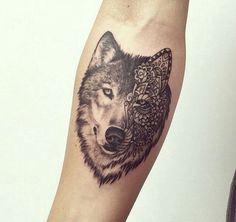 wolf face tattoo, wolf tattoo, wolf head tattoos
