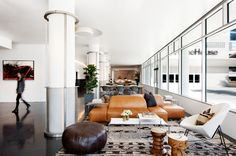 NeueHouse is a Perfectly Designed Industrial Co-Working Space - theultralinx.com