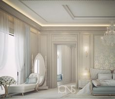 Master bedroom design • Private palace •  #الدوحه #doha #qatar #dubai #uae #abudhabi #دبي #السعودية #ديكور #ديكورات #تصميمي #تصميم #interiordesign #interior #decor #luxury #fashion #style #trend #architecture #mydubai #قطر #الامارات #الرياض #photography #art #fun #love #cute #beautiful