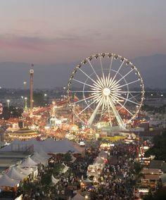 Pomona, California - L. County Fair in Pomona. Wikipedia, the free encyclopedia Pomona California, California Dreamin', Northern California, Great Places, Places To See, La County Fair, Fair Pictures, Los Angeles County, Tours
