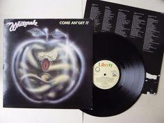 Whitesnake Come An  Get It Vinyl LP Liberty LBG30327 A1/B1 Lyric Inner  http://stores.ebay.co.uk/The-Cupboard-Under-The-Stairs/Rock-Pop-Vinyl-/_i.html?_fsub=2699685016