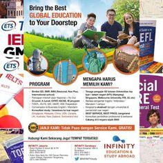 Pusat Persiapan Test TOEFL IELTS GMAT GRE • Konsultasi Studi / Beasiswa ke Luar Negeri •: Kursus Bhs Inggris TERBAIK No.1 di INDONESIA, kini...