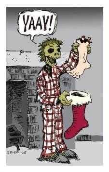 scifi Christmas Card
