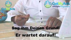 GetMyAds Video Deutsch Partner, Videos, Coat, Youtube, Black Pearls, Deutsch, Attendance, Liberty, Sewing Coat