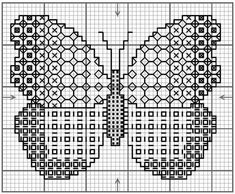 Simple Embroidery Patterns For Borders half Simple Embroidery Flowers Tutorial once Embroidery Designs Library Janome Motifs Blackwork, Blackwork Cross Stitch, Blackwork Embroidery, Embroidery Fabric, Cross Stitch Embroidery, Embroidery Patterns, Embroidery Tattoo, Butterfly Stitches, Butterfly Cross Stitch