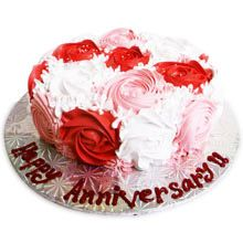 Here's 5 Types of Cakes to make your Friend's Anniversary Celebration a Memorable One! Send Birthday Gifts, Happy Birthday Cakes, Order Birthday Cake Online, Cupcakes Online, Best Gift For Wife, Anniversary Gifts For Wife, Types Of Cakes, Rose Cake, Online Gifts