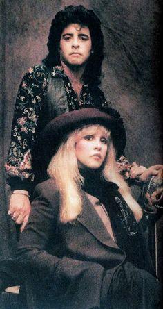 Stevie Nicks with Billy Burnette