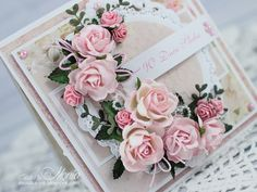Wild Orchid Crafts: Wedding vintage card