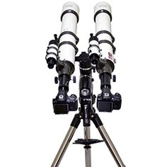 100mm Galileo and Santilli Telescopes, View Finders, Barlow Tubes, T-Rings, Sony Cameras, and Single Tripod. Please visit http://thunder-energies.com/index.php/ct-menu-item-9 for more information.