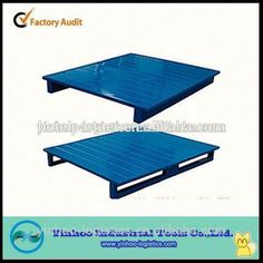 customized heavy duty stackable steel pallet for using and moving