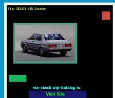 Fiat REGATA VIN Decoder - Lookup Fiat REGATA VIN number. 133402 - Fiat. Search Fiat REGATA history, price and car loans.