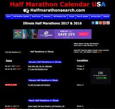 Search for Illinois Half Marathons - Illinois Half Marathon Calendar - half marathon schedule USA #Illinois http://www.halfmarathonsearch.com/half-marathons-illinois