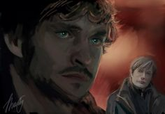 Will And Hannibal by kysochek-putina.deviantart.com on @deviantART