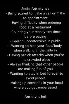 Anxiety sucks :(