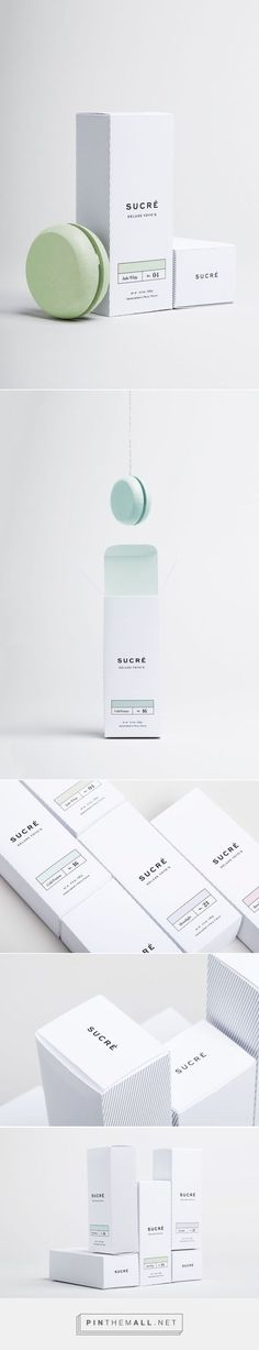 Product packaging inspiration outer case - great colors - Sucré / Sucré is a line of deluxe yo-yo's inspired by French macarons. Design Food, Web Design, Packaging Inspiration, Cosmetic Design, Print Packaging, Design Packaging, Food Packaging, Label Design, Package Design