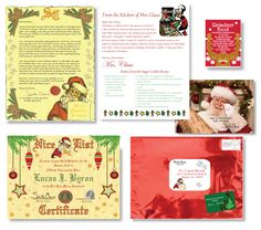 Personalized letter from santa kit deluxe scroll keywishlist surprise your child with a sealed by santa deluxe pack letter giveaway 2014hotholidaygifts on letter from santakits for spiritdancerdesigns Images
