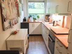 Wunderschöne helle und gemütliche Küche in Hamburg. #kitchen #interior #küche #hamburg #livinginhamburg