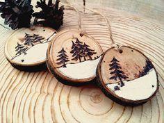 Decorazioni albero di Natale giocattoli di Natale di HolgaArt
