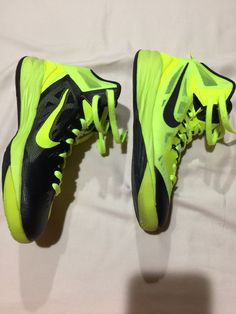 ea7b9e58cfdd Nike Hyperdunk 2014 volt black youth 6.5 almost perfect  fashion  clothing   shoes