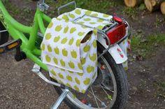 Fahrradtasche für den Gepäckträger nähen | textilsucht