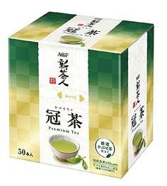Amazon | AGF ブレンディティーシリーズ新茶人 冠茶スティック 50本 | Blendy(ブレンディ) | 日本茶 通販