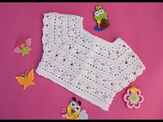 Crochet best yokes from Majovel Crochet English. In recent weeks I have brought a series of canesus to the channel. Crochet Baby Cardigan, Baby Girl Crochet, Crochet Baby Clothes, Crochet Woman, Crochet For Kids, Débardeurs Au Crochet, Crochet Waffle Stitch, Baby Knitting Patterns, Crochet Patterns