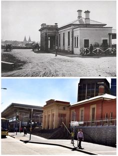 Parramatta Railway Station 1882>2015. [1882-State Records of NSW>2015-Curt Flood]