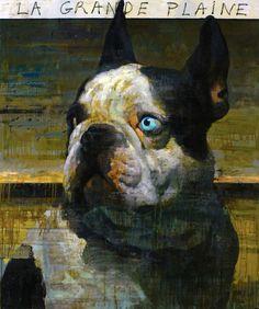 François Bard   BLACKNUBA Art And Illustration, Dog Artist, Art Graphique, Fauna, Wildlife Art, Dog Portraits, Animal Paintings, Art Techniques, Painting Inspiration