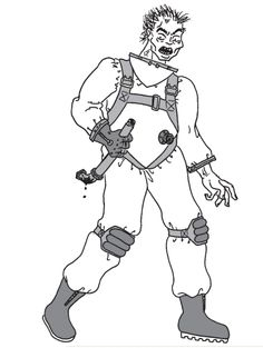 Not your Father's zombie plumber.