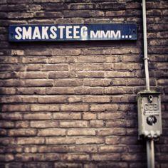 Mmm...De steegjes van #amsterdam #smaksteeg