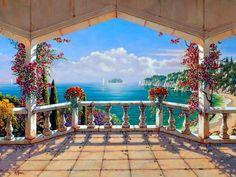 Pintor Robert Pejman, Nació en el Año1962 en Viena, Austria PINTURAS HIPERREALISTAS DE PAISAJES HERMOSOS DE VIENA Cuadros de Paisajes...