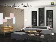 Axel living room by spacesims - Sims 3 Downloads CC Caboodle ...