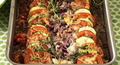 Brokkoliform • Oppskriftskroken Kjøttgrateng Ratatouille, Pesto, Sushi, Meals, Chicken, Dinner, Ethnic Recipes, Food, Tips