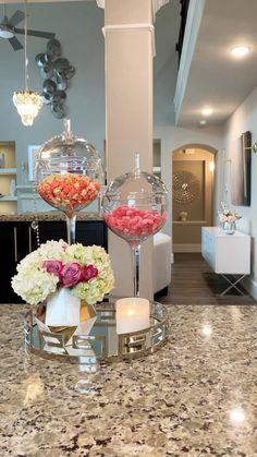 Glam Living Room, Decor Home Living Room, Home Decor Kitchen, Living Room Designs, Living Rooms, Diy Crafts For Home Decor, Modern Kitchen Design, Home Interior Design, Room Interior