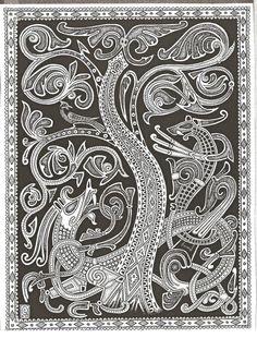 Viking dragons & Tree                                                                                                                                                                                 More