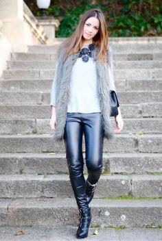 Fashionvibe » Zina Charkoplia Fashion Blog » Leather Pants